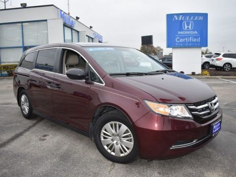 Certified Pre-Owned 2014 Honda Odyssey LX