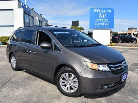 Certified Pre-Owned 2016 Honda Odyssey EX-L w/DVD