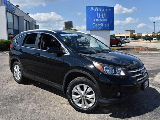 Certified Pre-Owned 2012 Honda CR-V EX-L AWD